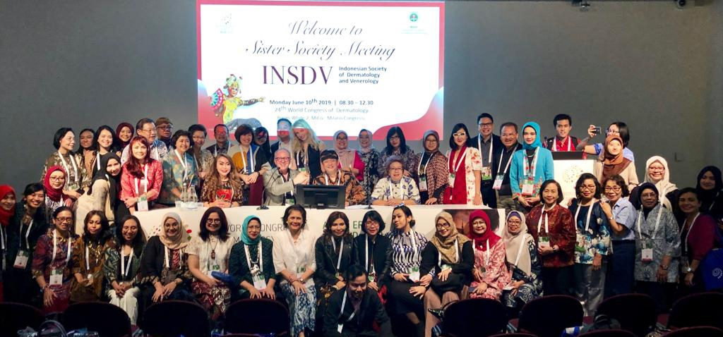 Sister Society Meeting INSDV in 24th World Congress of