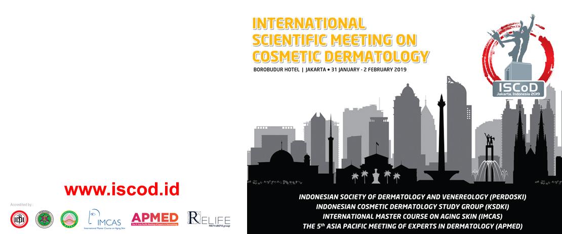 International Scientific Meeting on Cosmetic Dermatology - Jakarta 2019
